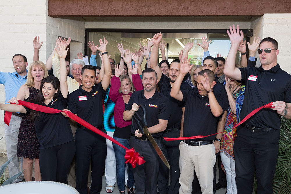Biztek Solutions Hosts Ribbon Cutting and Open House Event with Riverside Chamber of Commerce