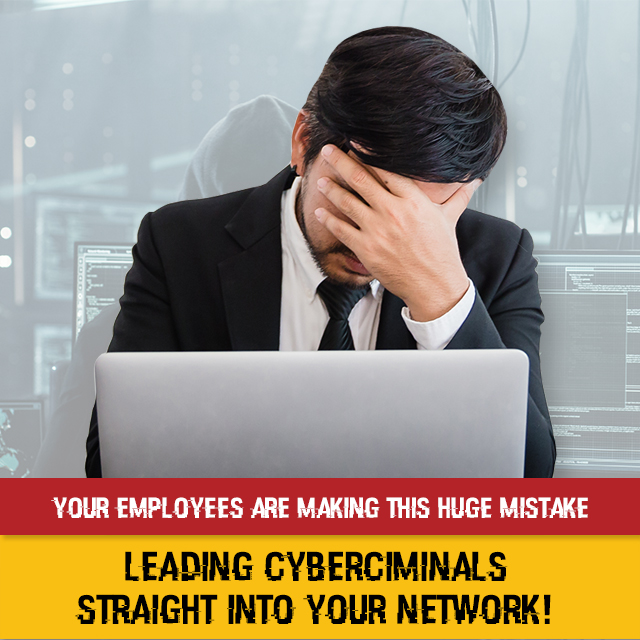 Biggest Mistake Your Employees Are Making That's Putting Your Business in Danger